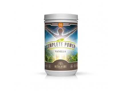 vitalvibe complete power bio vanilkovy 465 g (2)