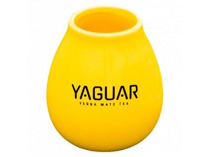 eng pl Tykwa Ceramiczna zolta z logo Yaguar 5895 2