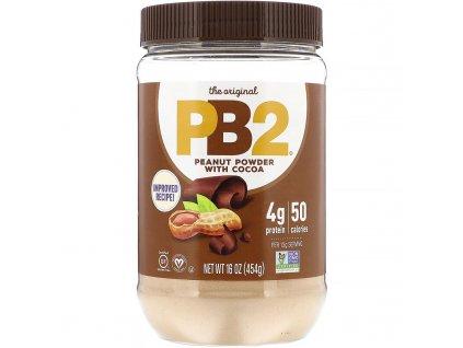 PB2 Foods Arašídové máslo s čokoládou 454g