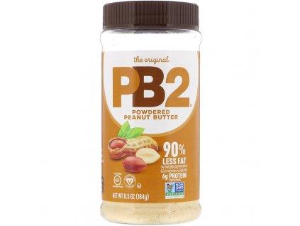 PB2 Foods Arašídové máslo v prášku 184g