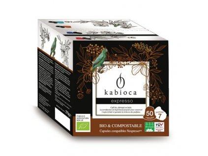 BIO Espresso kompostovatelné kávové kapsle pro Nespresso 50ks