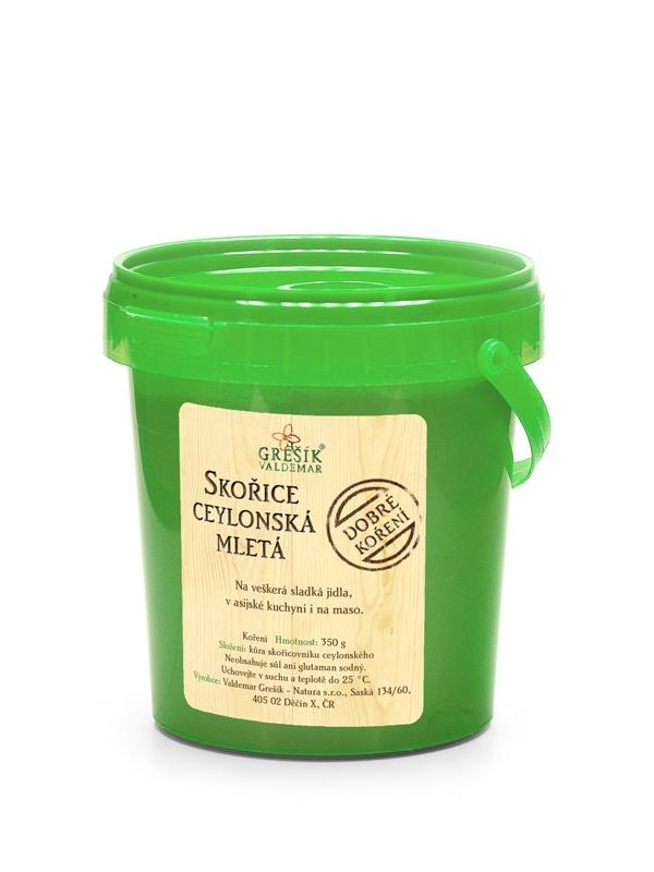 GREŠÍK VALDEMAR Dobré koření - Skořice ceylonská mletá, 350g