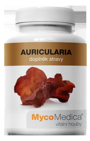 MycoMedica - Auricularia v optimální koncentraci, 90 rostlinných kapslí