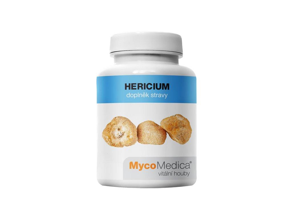MycoMedica - Hericium (Lion's Mane) v optimální koncentraci, 90 želatinových kapslí