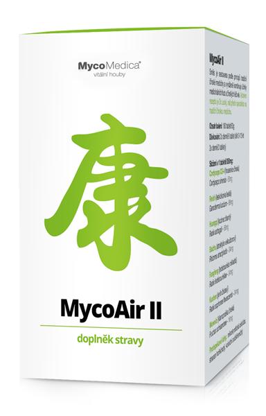 MycoMedica - MycoAir II v optimální koncentraci, 180 tablet