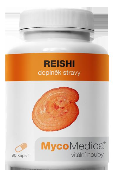 MycoMedica - Reishi v optimální koncentraci, 90 želatinových kapslí