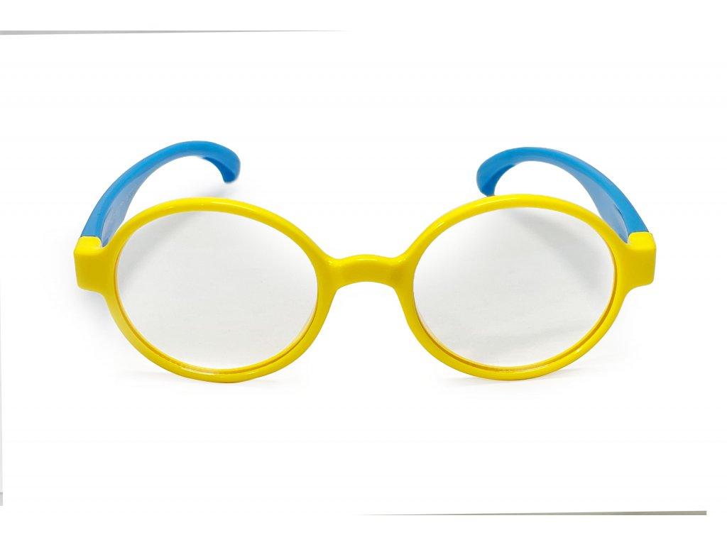 Votamax Dětské brýle CUBE blokující 35% modrého světla (žluto-modré)