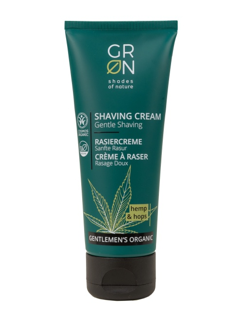 GRN - BIO krém na holenie pre mužov, 75 ml