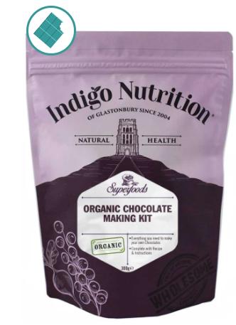 Indigo Herbs Chocolate Making Kit - set na výrobu čokolády 300 g špatně uvedená expirace !!!