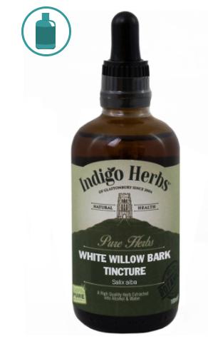 Indigo Herbs White Willow Bark tinktura - tinktura z bílé vrby, 100 ml