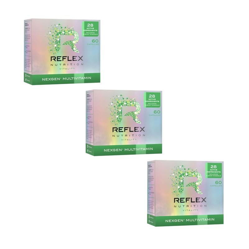 Reflex Nexgen® multivitamín 60 kapslí 2+1 ZDARMA!