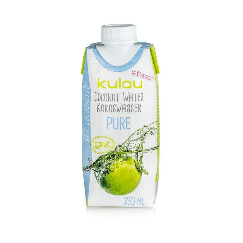 Kulau - BIO 100 % kokosová voda PURE, 330 ml