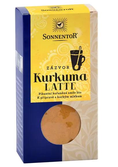 Sonnentor Kurkuma Latte - zázvor 60 g