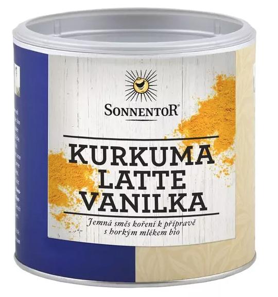 Sonnentor Kurkuma Latte - vanilka 230 g
