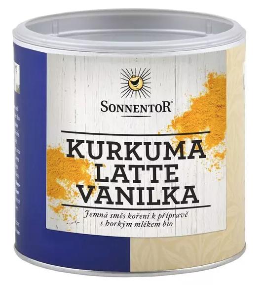 Sonnentor Kurkuma Latte - vanilka 60 g dóza