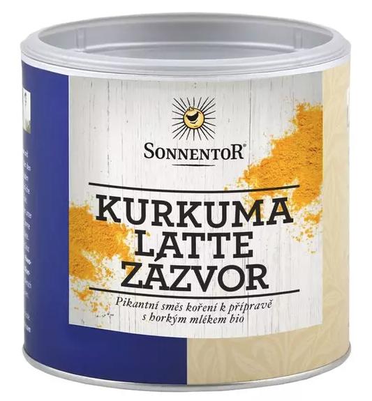 Sonnentor Kurkuma Latte - zázvor BIO, 60 g dóza