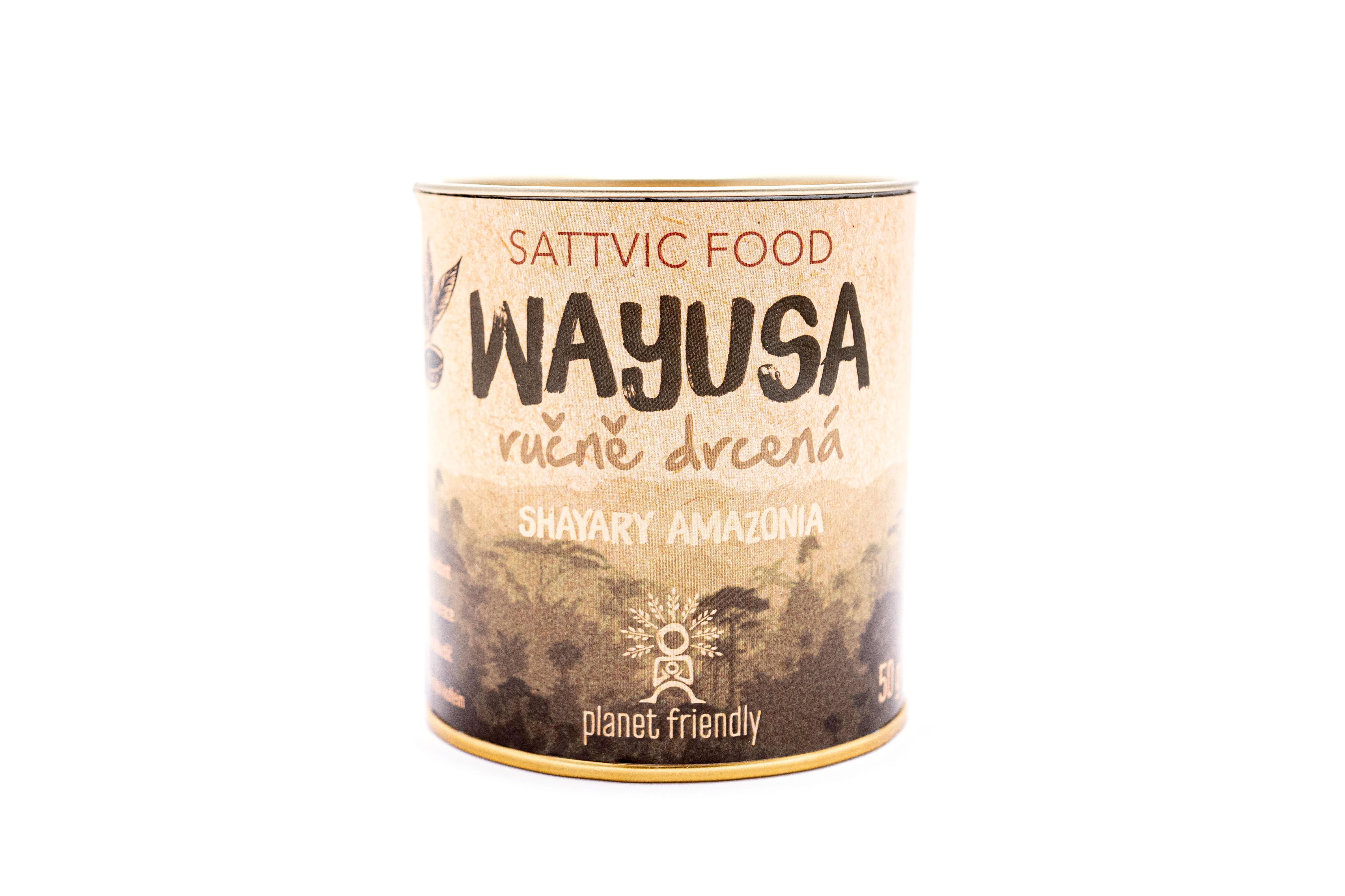 Planet Friendly Wayusa ručně drcená, 50 g