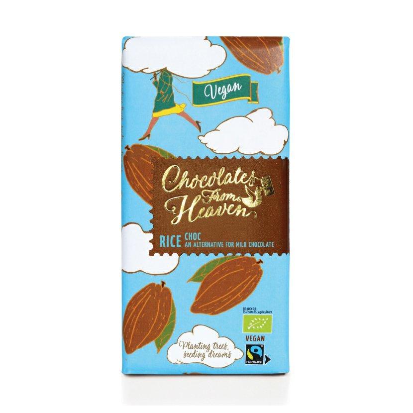 Chocolates from Heaven - BIO ryžová VEGAN čokoláda 42 %, 100 g