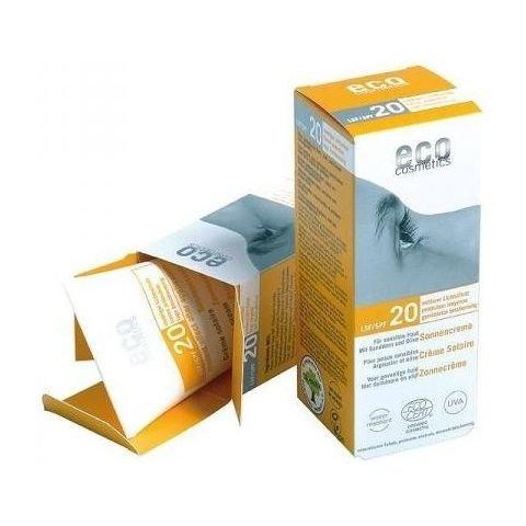 Eco Cosmetics opaľovací krém SPF 20 BIO, 75 ml