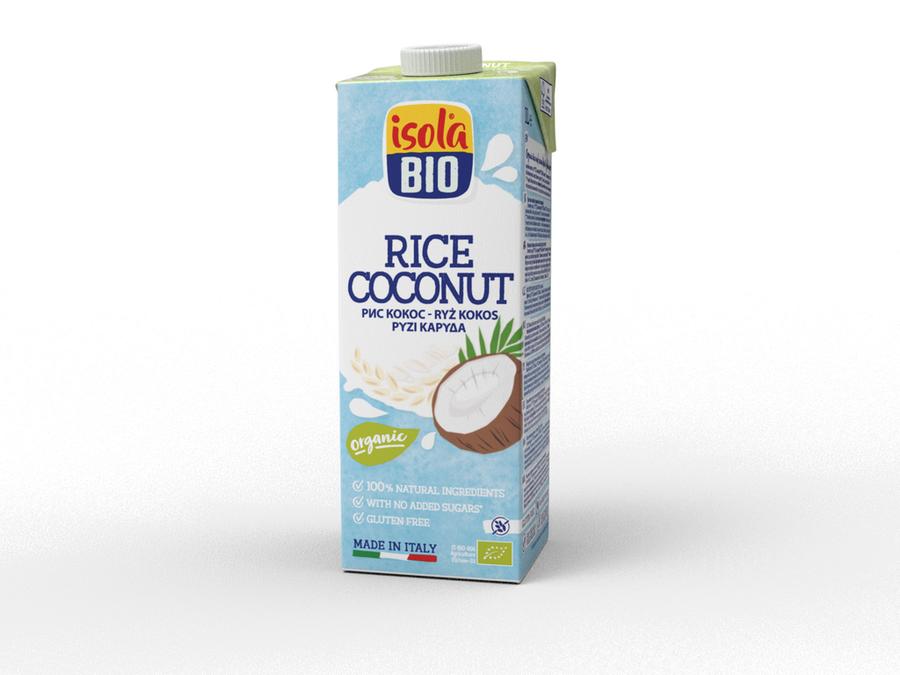 BIO ISOLA - nápoj ryžový kokosový BIO, 1000 ml