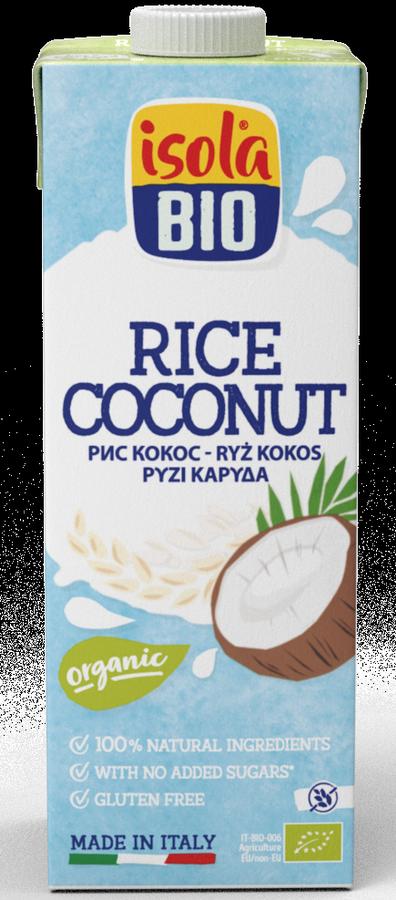 BIO ISOLA - nápoj ryžový kokosový BIO, 250 ml Expiraci 20.5.2021