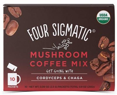 Four Sigmatic Chaga Mushroom Coffee Mix Množstvo: 10 sáčkov