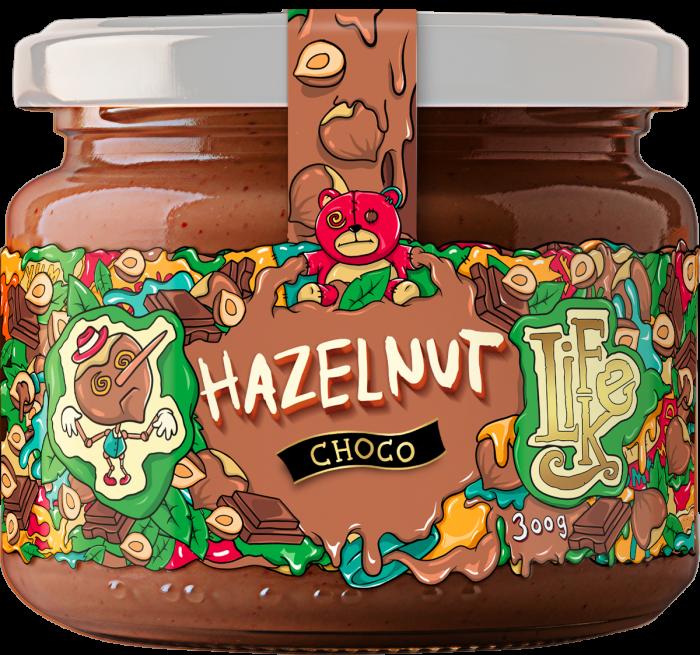 LifeLike - Lískooříškový krém s čokoládou - 300g