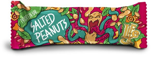 LifeLike - Protein Bar - Proteinová tyčinka Salted Peanuts - 45g
