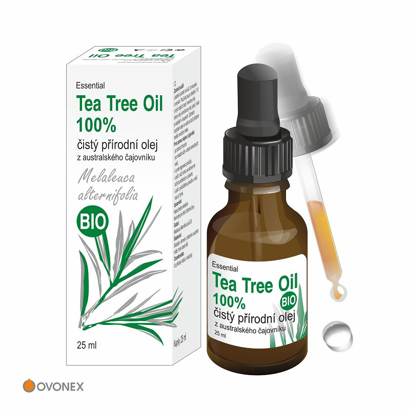 Ovonex s.r.o. Ovonex - Tea Tree Oil BIO, 25ml