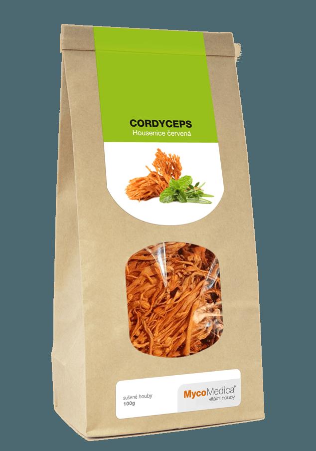 MycoMedica - Cordyceps sušený, 100 g