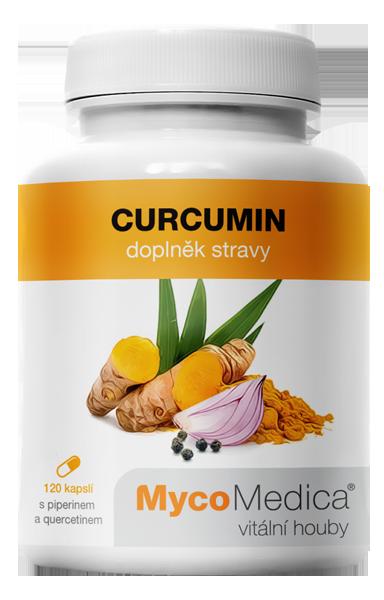 MycoMedica - Curcumin v optimální koncentraci, 120 želatinových kapslí