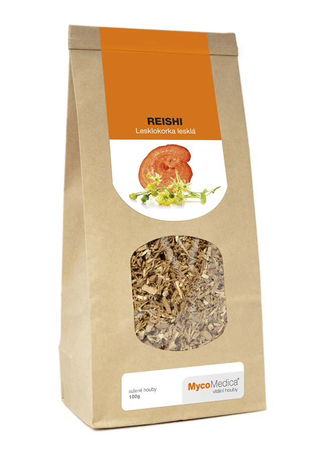 MycoMedica - Reishi sušená, 100 g