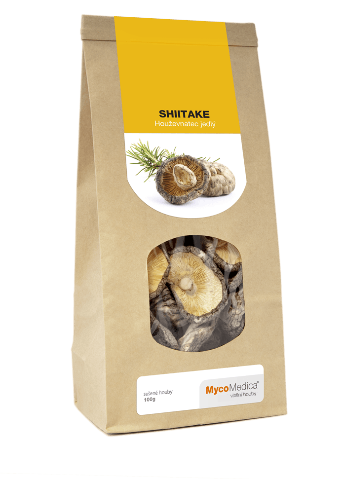 MycoMedica - Shiitake sušená, 100 g