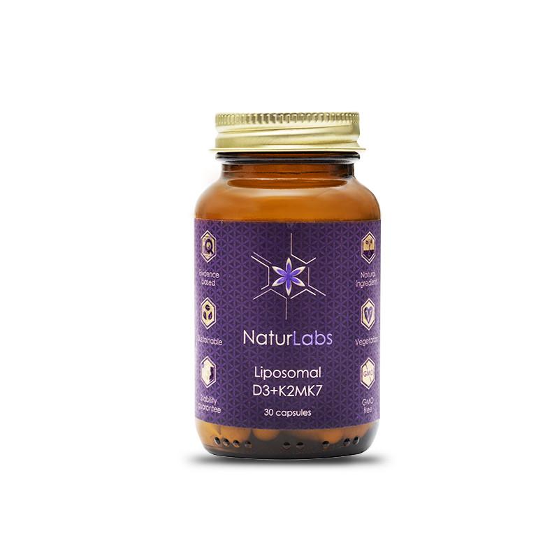 NaturLabs - Liposomální vitamín D3 + K2, 30 kapslí
