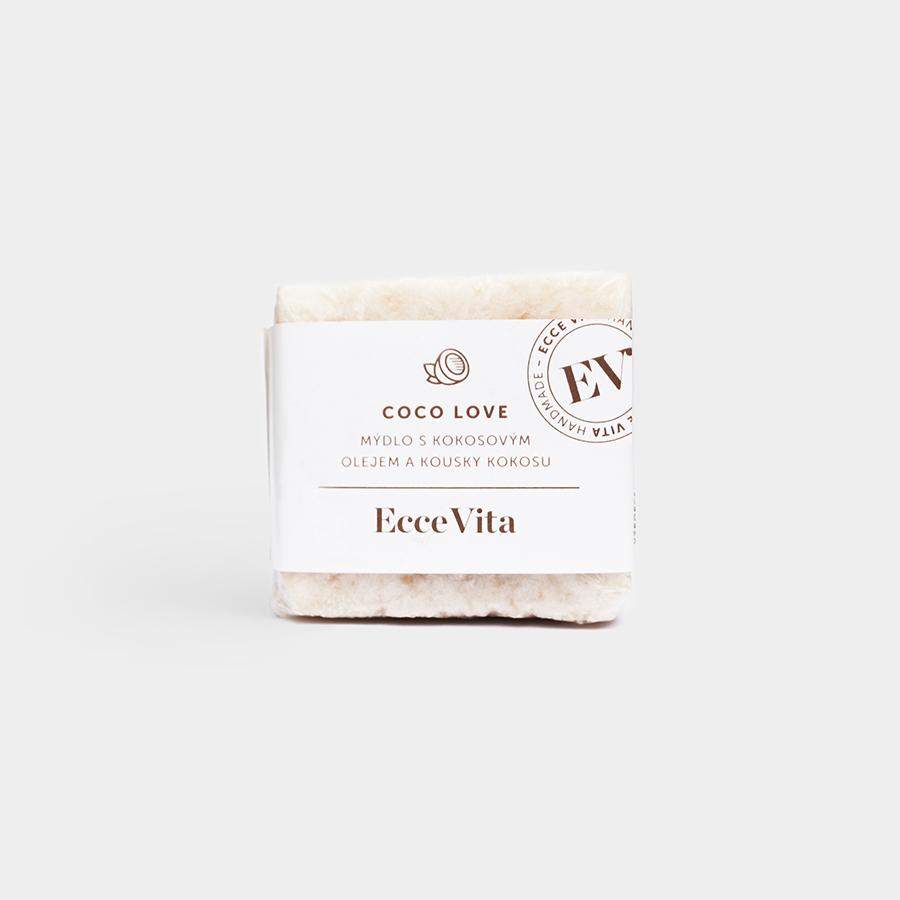 Ecce Vita EV mydlo - Coco Love, 140 g