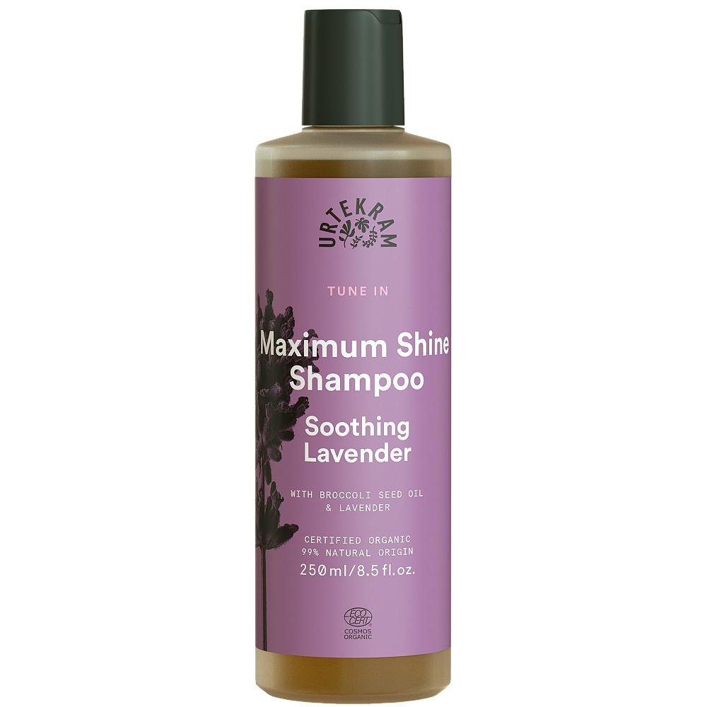 URTEKRAM, Šampon zklidňující levandule, 250ml BIO