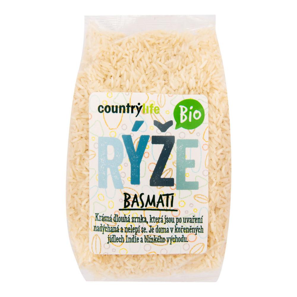 CountryLife - ryža basmati BIO, 1 kg *cz-bio-001certifikát