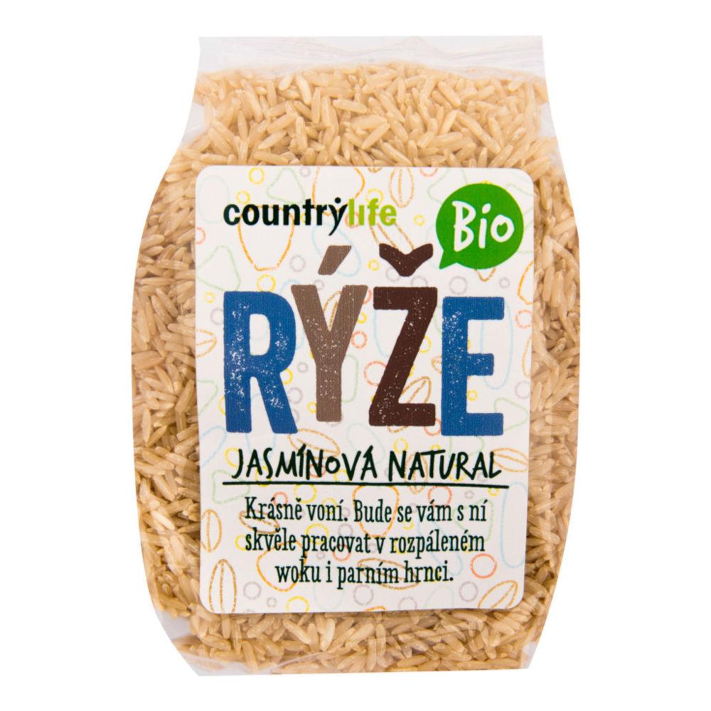CountryLife - ryža jazmínová natural BIO, 500 g *cz-bio-001 certifikát
