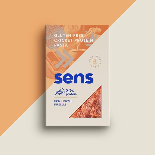 Sens - Proteinové těstoviny s cvrččí moukou - Fusilli, 200 g