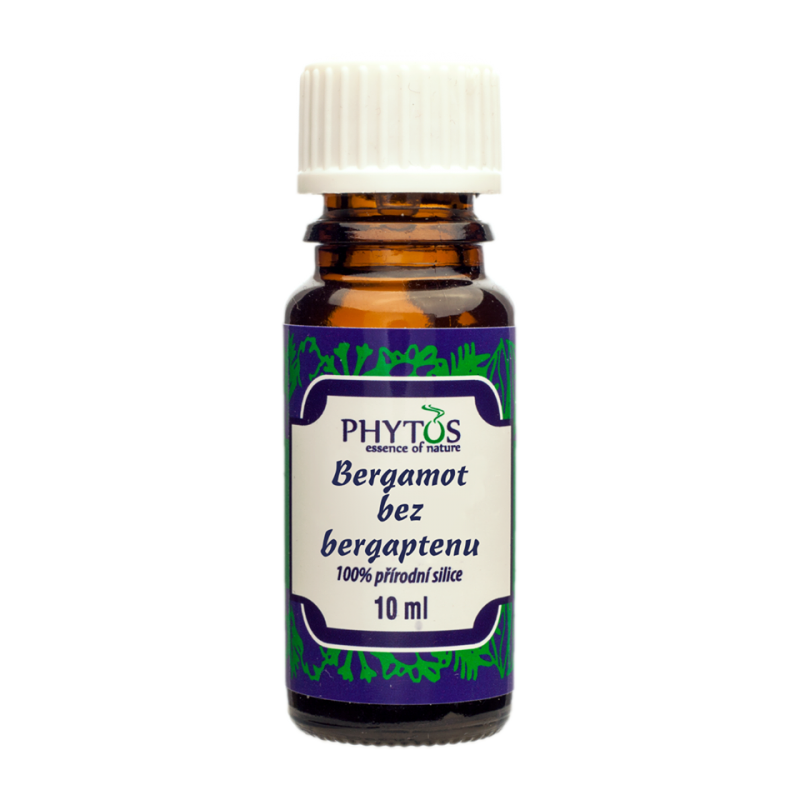 Phytos, Éterický olej Bergamot bez bergaptenu, 10 ml