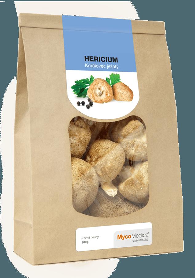 MycoMedica - Hericium (Lion's Mane) sušený, 100 g