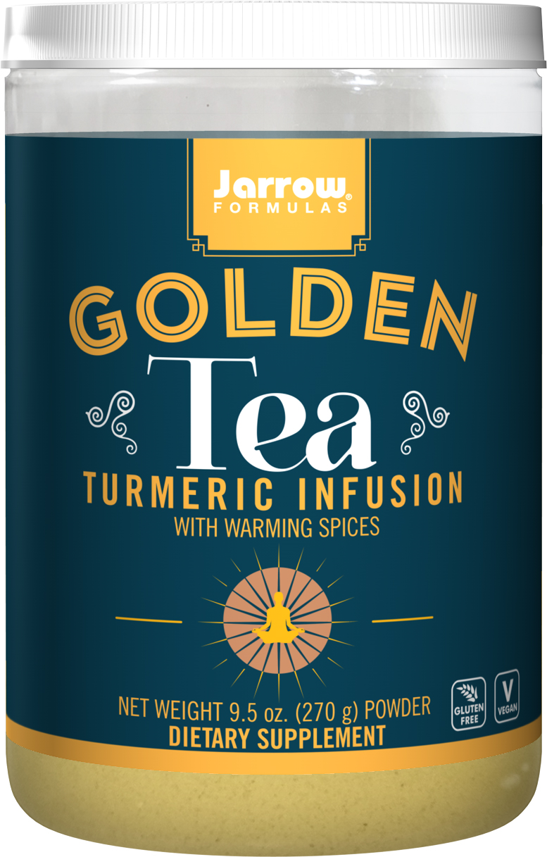 Jarrow Formulas Jarrow Golden Tea, Turmeric Infusion (extrakt z kurkumy), 270 g Expirace 11/2021