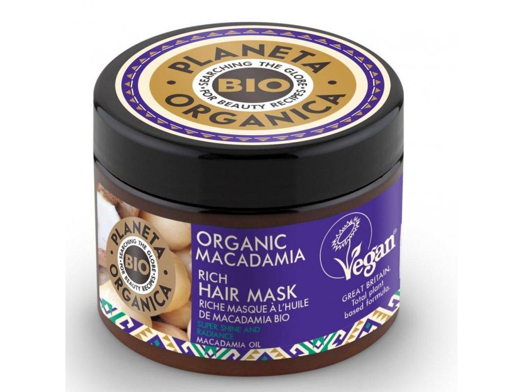 Planeta Organica Maska na vlasy Makadamia, 300ml