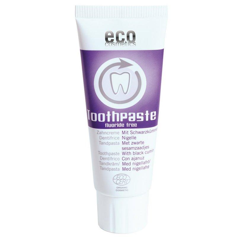 Eco Cosmetics Zubní pasta s černuchou BIO bez fluoru, 75 ml