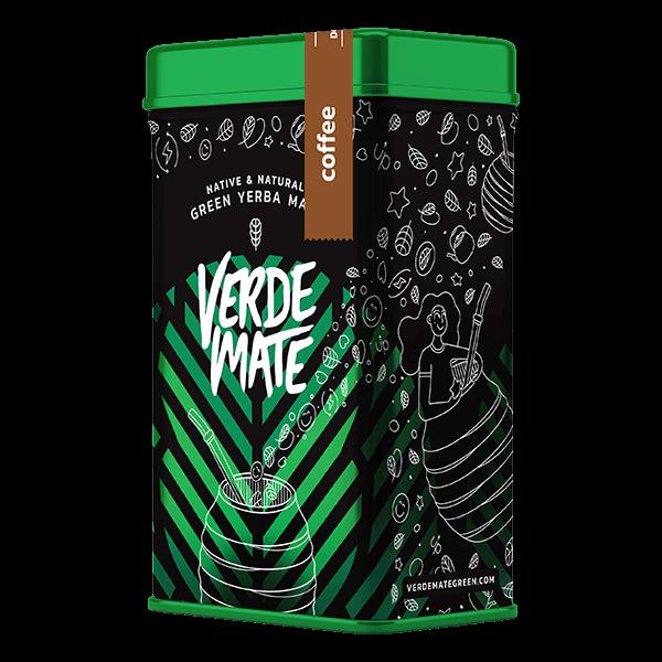 Verde Mate Green Toasted Coffee 0,5kg + Plechová dóza Yerbera