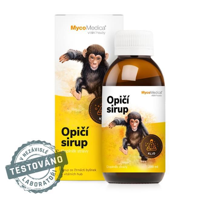 MycoMedica - Opičí sirup, 200 ml