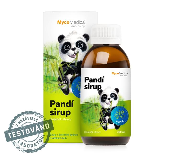 MycoMedica - Pandí sirup, 200 ml
