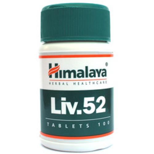 Himalaya Herbals Liv. 52 (činnosť a očista pečene), 100 tabliet