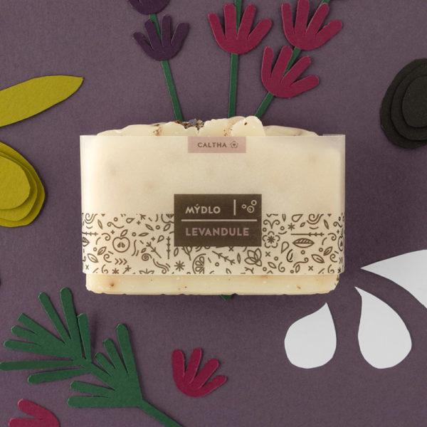 Caltha, Tuhé bylinné mýdlo, Levandule