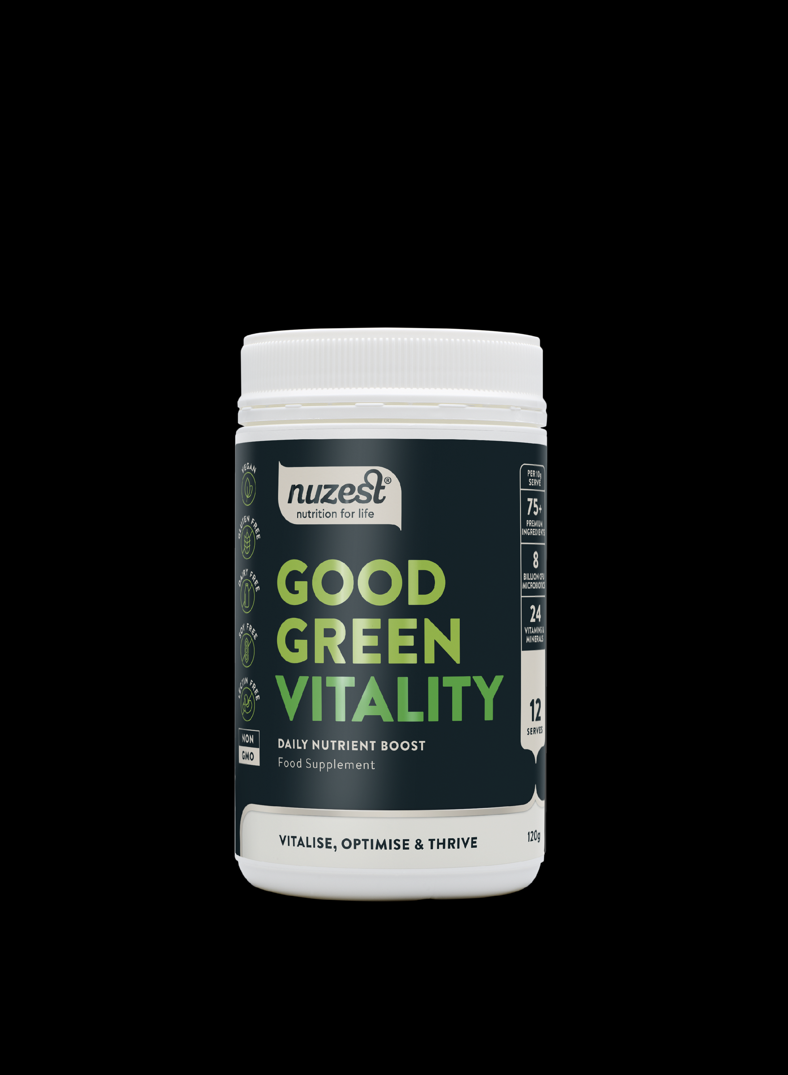 Nuzest - Good Green Vitality, 120g